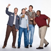 Steve Byrne and the Cast of Sullivan and Son